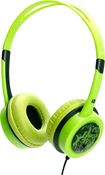 iDance - Free Over-the-Ear DJ Headphones - Green