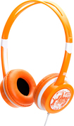 iDance - Free Over-the-Ear DJ Headphones - Orange