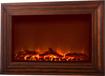 Fire Sense - Wall-Mounted Electric Fireplace - Wood