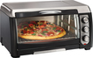 Hamilton Beach - Convection Toaster/Pizza Oven - Black/Stainless-Steel