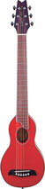 Washburn - Travel Series Rover 6-String Full-Size Acoustic Guitar - Trans Red