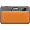 Sony - Cyber-shot 16.2 Megapixel Compact Camera - Orange