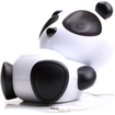 GOgroove - Mama Panda Pal Portable High-Powered Stereo Speaker System for Phones, Tablets, MP3 Players, & More