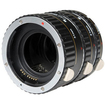 Vivitar - Macro Extension Tube Set Of 3 for Canon Eos (13mm, 21mm & 31mm)