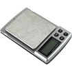 eForCity - Digital Pocket Scale with Backlight LCD display - Black - Black