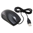 eForCity - USB Optical Scroll Wheel Mouse Compatible With PC Laptop Mac - Black