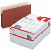 Universal - 3 1/2 Inch Expansion File Pockets, Straight Tab, Legalrope/Manila, 25/Box