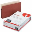 Universal - 5 1/4 Inch Expansion File Pockets, Straight, Legalrope/Manila, 10/Box