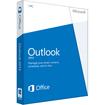 Microsoft - 543-05747 Outlook 2013 Product Key Card 32/64-Bit