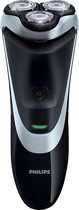 Philips Norelco - PowerTouch Plus Dry Electric Shaver - Black/Silver