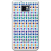 iLuv - Hardshell Case with Patent¿-Pending Pattern for GALAXY-¿S II - Blue Pattern