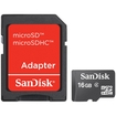 SanDisk - MicroSD 16GB Cell Phone Mobile Ultra Card SDSDQY-016G-A11M - Multi