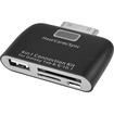 SIIG - 4-in-1 Connectivity Adapter for Galaxy® Tablets - Black - Black
