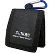 Zeikos Electronics - Ze-Mc3A Tri-Fold Memory Card Wallet - Stores Up To 3 Memory Cards - Black