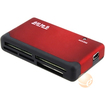 eForCity - 26 in 1 Memory Card Reader - Black, Red - Black, Red