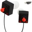 Accessory Genie - GamerBUDs Retro Arcade Joystick Earbud Headphones w/Micro-USB Cable