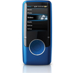 Coby - 8 GB Flash Portable Media Player - Blue