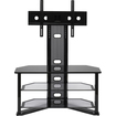 Z-Line Designs - Madrid Flat Panel TV Stand with Integrated Mount - Black