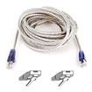 Belkin - F3L900-15-Ice-S 15Ft Hi-Speed Internet Modem Cable - White