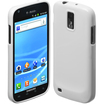 Cimo - Gloss Back Flexible TPU Case T-Mobile Samsung Galaxy S II, Hercules - White - White