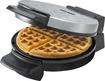 Black & Decker - Belgian Waffle Maker - Chrome