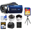 Bell and Howell - DNV16HDZ 1080p Camera/Camcorder with NV + 32GB Card + Case + Tripod + Wide/Tele Lens