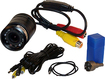 Pyle - PLCM22IR Flush Mount CMOS Rear View Colored Camera