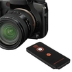 eForCity - IR Remote Control Compatible With Sony Alpha Series DSLR Camera - Black