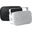Poly-Planar - 50 W RMS - 100 W PMPO Speaker - 2-way - 2 Pack - Black