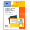 "Sparco - Transparent Portfolio - Letter - 8.50"" x 11"" - 60 Sheet - 5 / Pack"