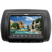 """Absolute USA - DPH-780IRB 7.5"""" Headrest Monitor with Touch Surface Button Controls & Built-In DVD Player - Black"""