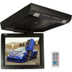 Absolute USA - DFL-1800IRB 18-inch Flip Down Monitor TFT Display Built-In DVD Player - Black
