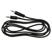 eForCity - Premium (6 ft/1.8m)3.5mm Stereo Plug to Jack Extension M/M Cable Compatible With Sony PS3 - Black