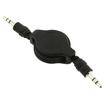 Fosmon - Extension Audio Cable - Black - Black