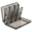 eForCity - Game Card Case 24-in-1 Compatible With Nintendo 3DS XL - Smoke
