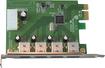 VisionTek - 4-Port USB 3.0 PCI Express Expansion Card