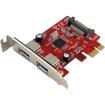 Visiontek - USB 3.0 PCIe Expansion Card 2-port