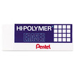 Pentel - Hi-Polymer Block Eraser, 3/Pack