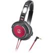 Audio-Technica - Headphone - Black, Red