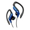 JVC - Haeb75A Sport Style Ear-Clip Headphones - Blue