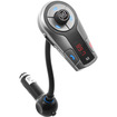 GOgroove - FlexSMART X2 Wireless In-Car Bluetooth FM Transmitter w/Charging, Music Control & Hands-Free Calling