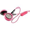 iSkin - earTones Earset - Black, Pink
