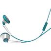 iSkin - earTones Earset - Blue, White - Blue, White