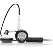 iSkin - earTones Earset - Black, White - Black, White