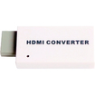AGPtek - 1080P Wii to HDMI HD Output by Pass Upscaling Converter Adapter for Wii TV - White