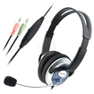 eForCity - PC Computer HeadPhone Headset MicroPhone for MSN Skype