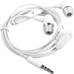 eForCity - Earphone w/ Microphone for iPod and iPhone - White - White