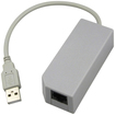 eForCity - Compatible With NINTENDO Wii USB ETHERNET NETWORK LAN ADAPTER RJ-45 - Multi