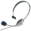 eForCity - New Live Headset + Mic for xBox 360/xBox 360 Slim Wireless Controller - White - White