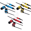 eForCity - Earphone Headphone w/Mic Bundle for iPhone 3G OS 4 G iPhone 4S - AT&T, Sprint - Black, Blue, Gold, Red - Black, Blue, Gold, Red